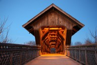 This beautiful bridge is a must-see in Guelph!