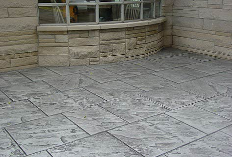 Stamped Concrete Patio Web